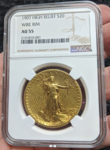 graded gold coin