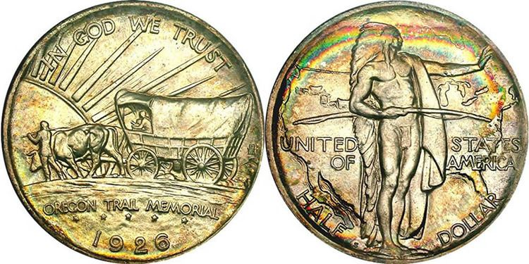 Types of United States Early American Medals & Commemorative Coins.
